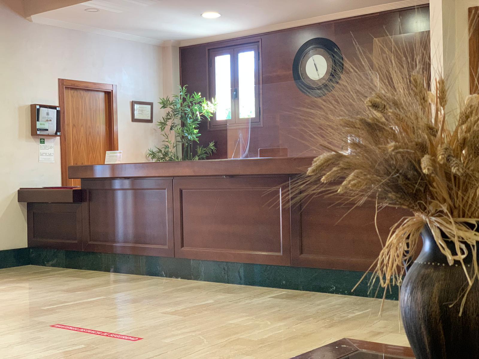 nuestra recepción, hotel en antequera los dolmenes
