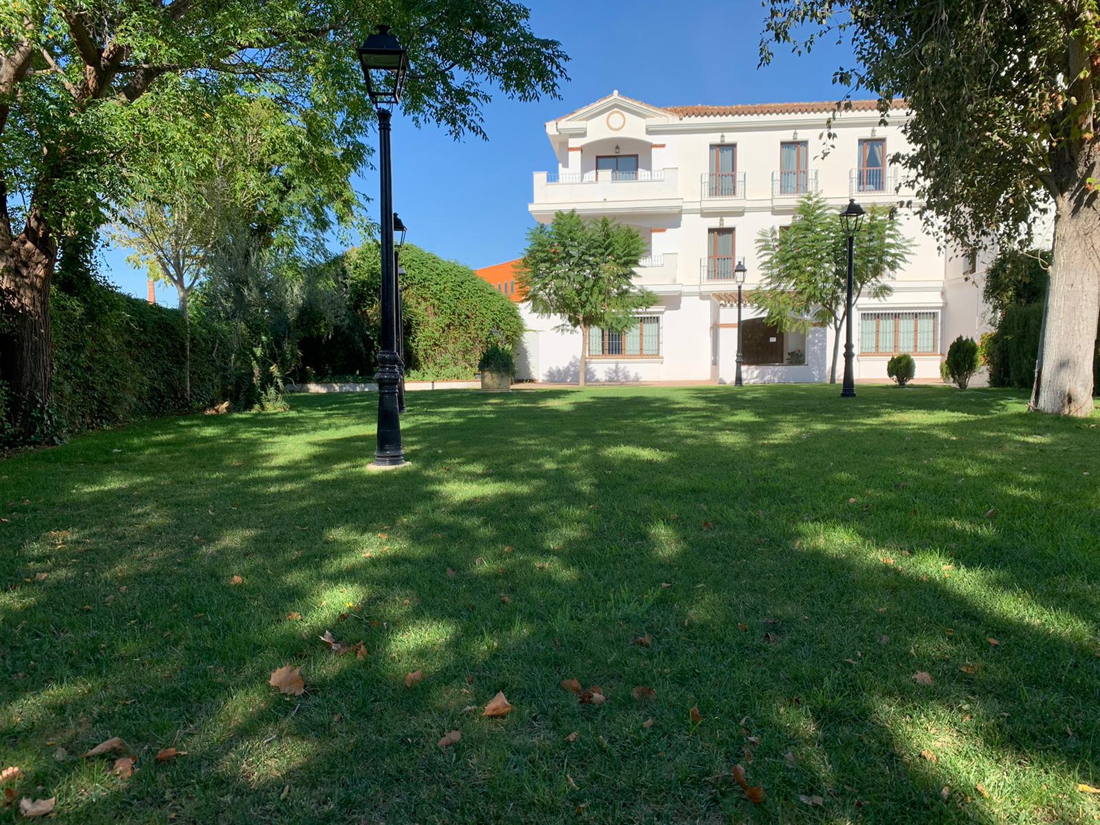 nuestro jardin con vistas al romeral